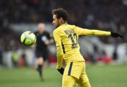 """Neymaras atvedė PSG į pergalę Tulūzoje, """"Monaco"""" pakilo į antrąją vietą (VIDEO)"""