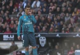 K. Mbappe nesutinka, kad C. Ronaldo žaidimo kreivė krenta