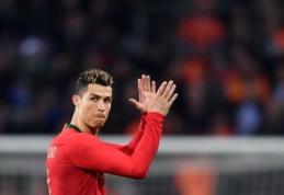Portugalų pralaimėjimo fone – nutrūkusios C. Ronaldo serijos
