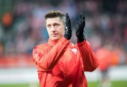 """""""Bayern"""" pirmininkas šimtu procentų įsitikinęs, kad R. Lewandowskis liks klube"""