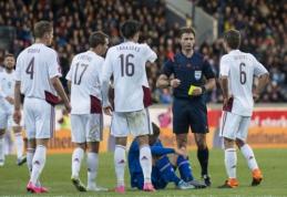 Kaimynų gėda: latviai pralaimėjo prieš paskutinę vietą FIFA reitinge užimančią rinktinę (VIDEO)