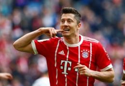 """""""Real"""" informavo """"Bayern"""", kad nėra jokio susitarimo su R. Lewandowskiu"""