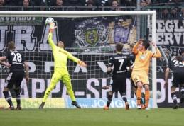 """""""Gladbach"""" šešių įvarčių trileryje pasiekė lygiąsias prieš """"Hoffenheim"""" (VIDEO)"""