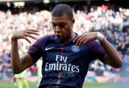 """Didžiąją rungtynių dalį mažumoje žaidęs PSG įveikė """"Angers"""" (VIDEO)"""