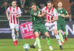 """""""Bundesliga"""": """"Werder"""" namuose pranoko lygos autsaiderius (VIDEO)"""