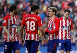 """Ispanijoje - įtikinama """"Atletico"""" pergalė prieš """"Celta"""" (VIDEO)"""