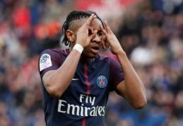 """PSG nušlavė """"Metz"""", """"Nantes"""" palaužė """"Troyes"""", o """"Rennes"""" ir """"St-Etienne"""" išsiskyrė taikiai (VIDEO)"""