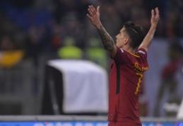 """Po pertraukos užsikūrusi """"Roma"""" nepaliko vilčių """"Torino"""" (VIDEO)"""