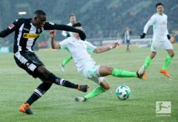 """Po dviejų praleistų įvarčių atsitiesęs """"Werder"""" pasiekė lygiąsias prieš """"Gladbach"""" (VIDEO)"""