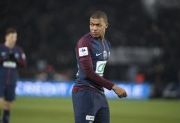 Bėdos po vieną nevaikšto: PSG ekipoje traumą patyrė ir K. Mbappe