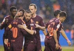 """L. Messi """"hat-trickas"""" atnešė """"Barcelona"""" komandai Ispanijos čempionų titulą (VIDEO)"""