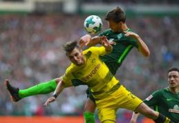 """""""Borussia"""" neįveikė """"Werder"""", """"Leipzig"""" patyrė triuškinančią nesėkmę (VIDEO)"""