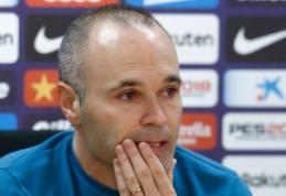 Oficialu: A. Iniesta atsisveikina su ''Barcelona''