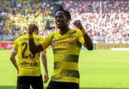 """M. Batshuayi norėtų likti """"Borussia"""" gretose"""