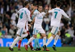 ''Real'' rungtynių pabaigoje išvengė pralaimėjimo prieš ''Athletic'' (VIDEO)