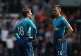 Nė taško išvykoje neturintis ''Arsenal'' nusileido ''Newcastle'' ekipai