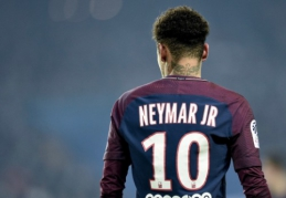 U. Emery suteikė gerų žinių apie Neymarą