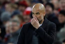 P. Guardiola: Raiola žiemą siūlė įsigyti Pogba
