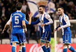 """Rezultatyvi """"La Liga"""" autsaiderių dvikova baigėsi """"Deportivo"""" pergale (VIDEO)"""
