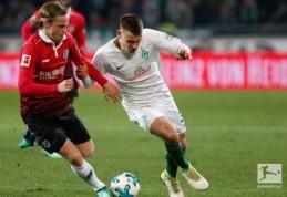 """""""Hannover"""" nutraukė penkių pralaimėjimų seriją Vokietijos pirmenybėse (VIDEO)"""