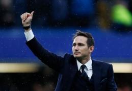 """Derby County"" ekipoje darbą gavęs F. Lampardas pradeda trenerio karjerą"