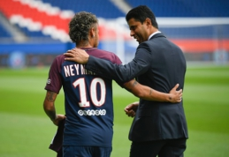 PSG prezidentas: nei vienas žaidėjas nėra didesnis už klubą