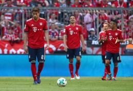 """Vokietijos pirmenybės finišavo triuškinančia """"Bayern"""" nesėkme (VIDEO)"""