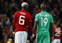 Simuliacija apkaltintas P. Pogba brolis susistumdė su savo komandos draugais (VIDEO)
