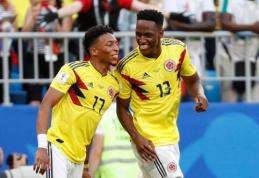 Pergalę iškovojusi Kolumbija laimėjo H grupę, Senegalas eliminuotas pačiu skaudžiausiu būdu (VIDEO)