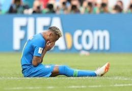 """""""1000 eurų iššūkis"""". R. Vyšniauskas: jei serbai pralaiminės - jie nusineš Neymaro koją"""