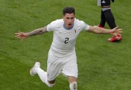 """""""1000 eurų iššūkis"""". R. Vyšniauskas: rusams bus sunku prieš tokią patyrusią komandą kaip Urugvajus"""