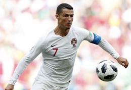 PČ: vienintelė intriga A grupėje ir Irano bandymas priblokšti C.Ronaldo