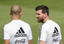 J. Veronas: tik pats Messi žino, kas jam nutiko