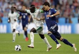 Dukart vytis turėję japonai išplėšė lygiąsias prieš Senegalą (VIDEO)