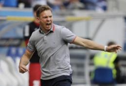 "J. Nagelsmannas treniruos ""RB Leipzig"""