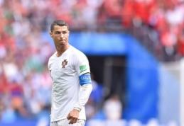 C. Ronaldo tapo rezultatyviausiu visų laikų Europos žaidėju