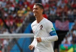 C. Ronaldo ketvirtasis įvartis eliminavo Maroką iš pasaulio čempionato (VIDEO)