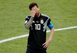 PČ staigmena: L. Messi nerealizavo baudinio, o Argentina neįveikė Islandijos (VIDEO, FOTO)