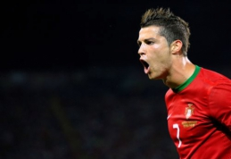 C. Ronaldo pakilo į rezultatyviausių Europos futbolininkų sąrašo viršūnę