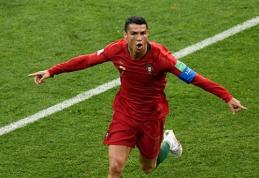 Driokstelėjęs C.Ronaldo išplėšė portugalams lygiąsias prieš ispanus (FOTO, VIDEO)