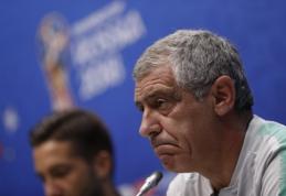 F. Santosas: Lopetegui pasitraukimas neturėtų paveikti Ispanijos žaidimo