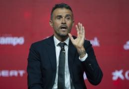 L. Enrique: nustebinsiu kita Ispanijos rinktinės sudėtimi