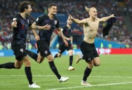 Kroatijos futbolo federacijos spjūvis: Ukrainą šlovinusiam trenerio asistentui parodytos durys (VIDEO)