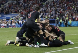 Rusijos pasaka baigėsi - po 11 m baudinių serijos kelialapį į pusfinalį išplėšė kroatai (VIDEO)