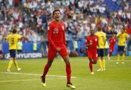 Švedus įveikę anglai po 28 metų pertraukos grįžta į pasaulio čempionato pusfinalį (VIDEO)