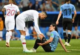 Urugvajus į kovą prieš prancūzus stos be E. Cavani