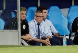 Urugvajaus treneris: nebijome nė vieno varžovo