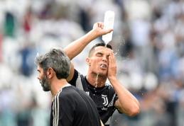 C.Ronaldo laikinai stabdo žaidimą Portugalijos rinktinėje