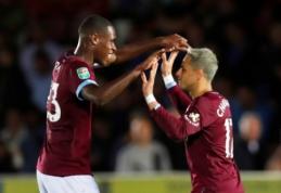 """Septyni """"Premier"""" lygos klubai pateko į trečiąjį Anglijos lygos taurės etapą"""