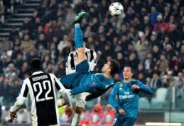 UEFA išrinko gražiausią praėjusio sezono įvartį